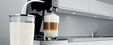 Jura The quick and easy way to enjoy the perfect cup of coffee